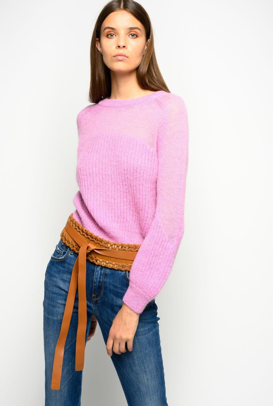 Mohair blend pullover