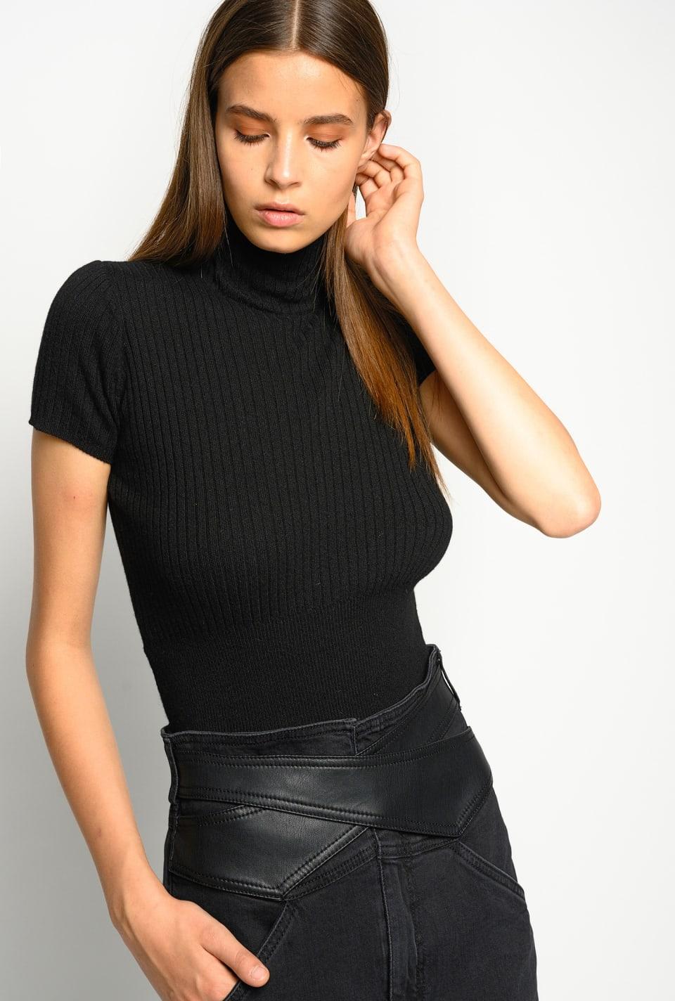 Cashmere-blend top