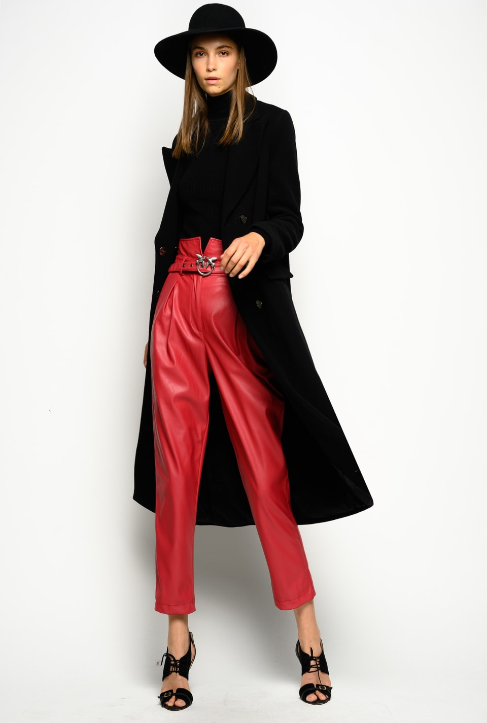 Shawl collar coat - Pinko