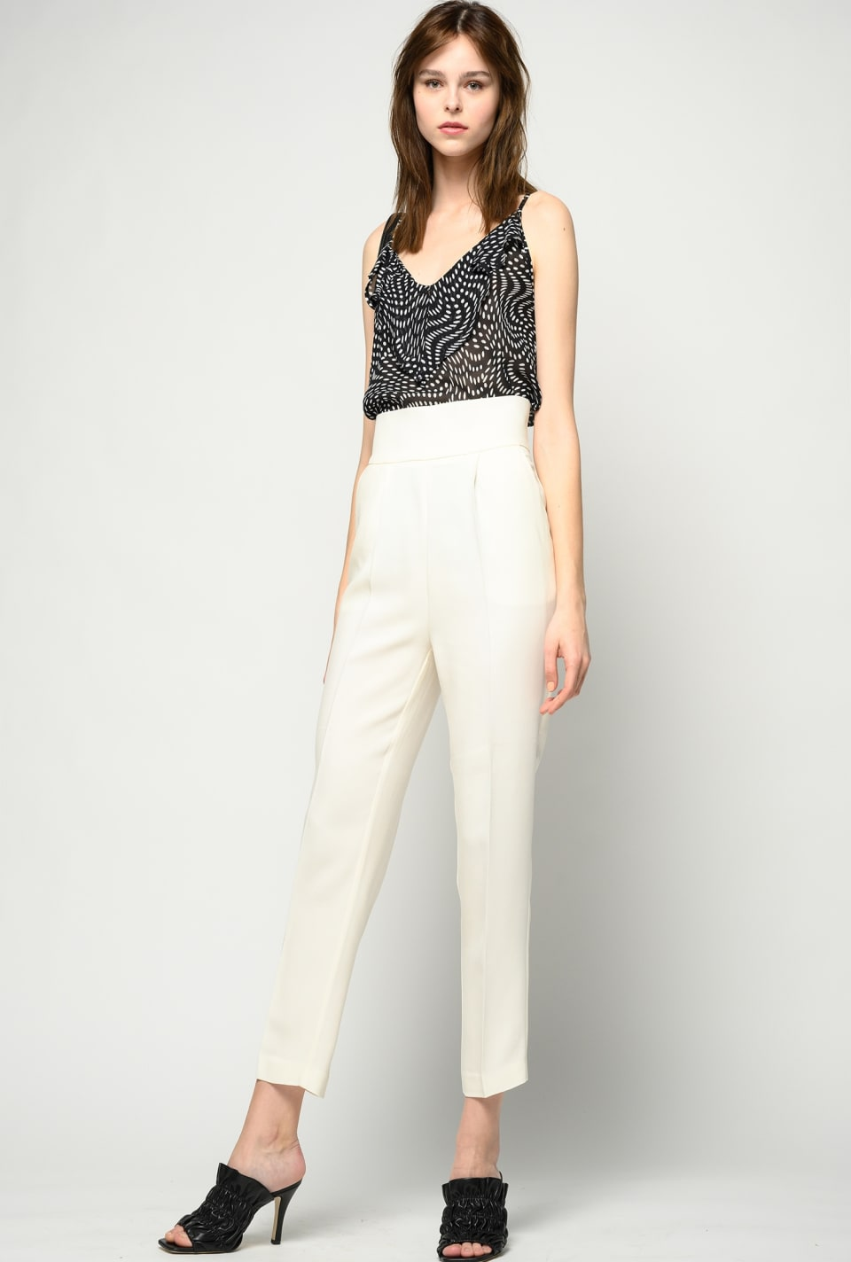 Technical viscose trousers - Pinko