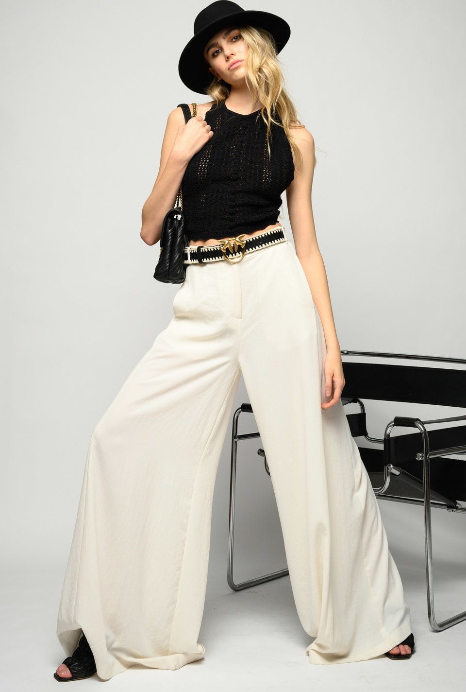Wide flowing trousers - Pinko