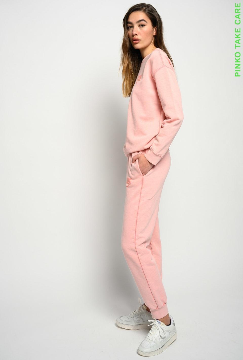 Joggers in organic cotton - Pinko