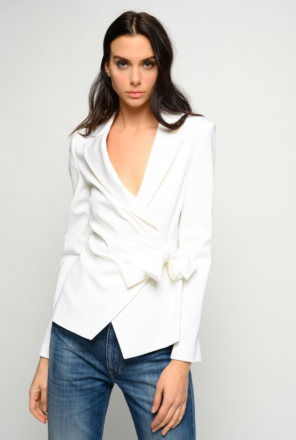 Blazer with bow - Pinko