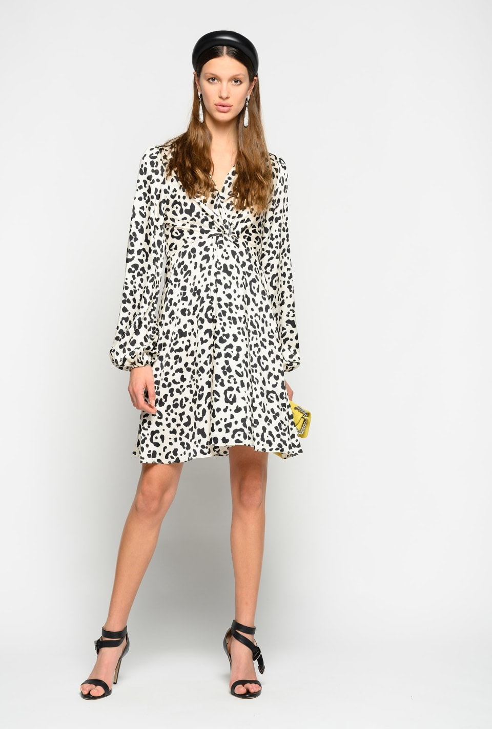 Faded spotted print dress - Pinko