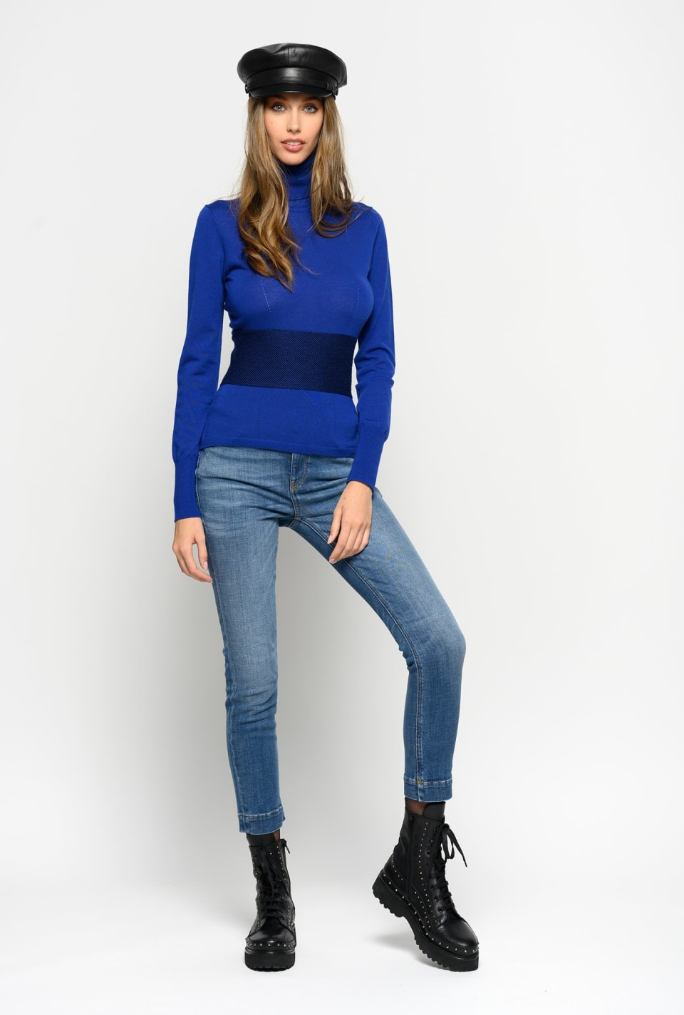 Skinny fit jeans in two-way stretch denim - Pinko