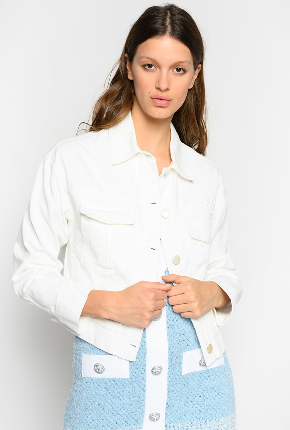 Jacket in cotton bull