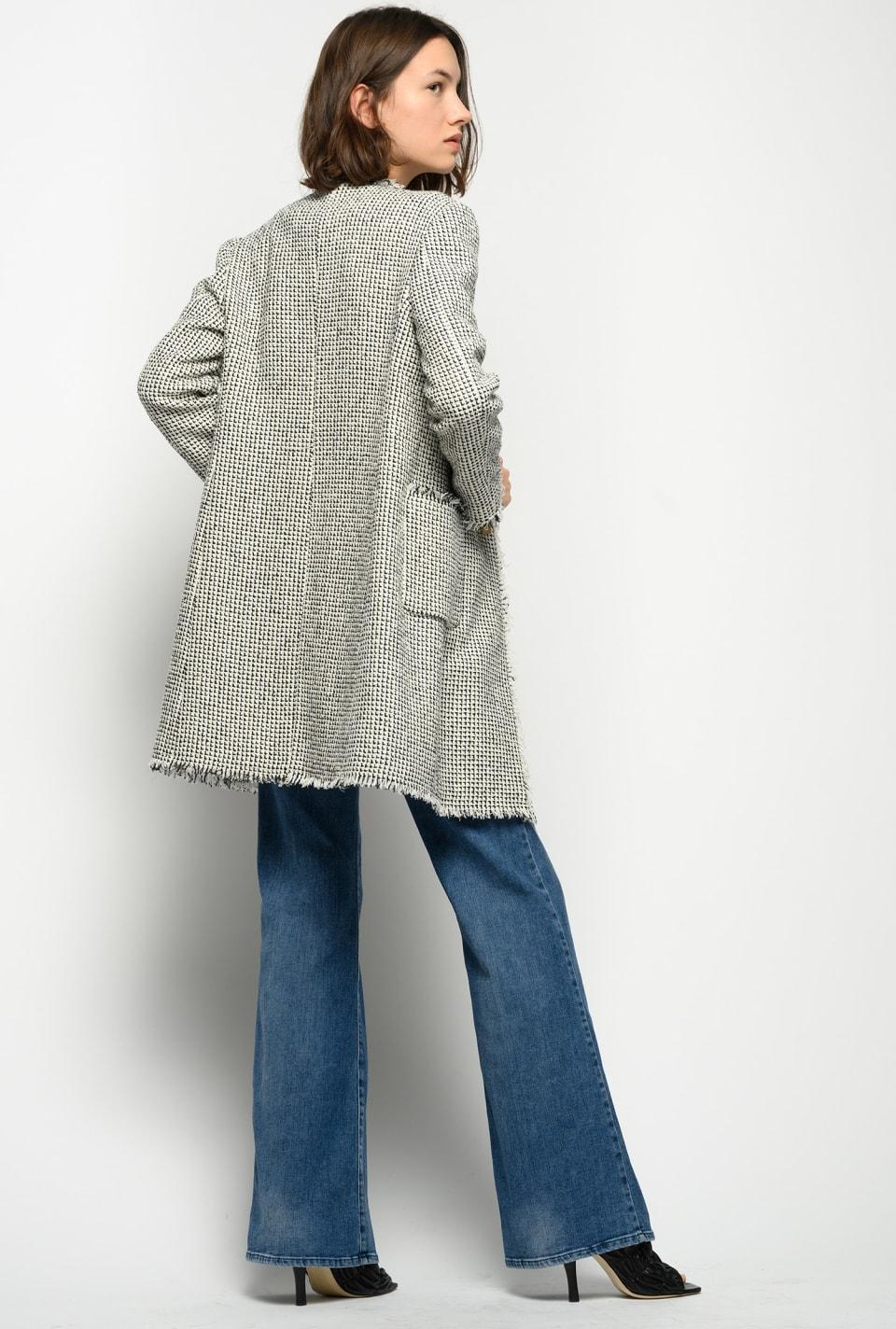 Flared jeans with comfort denim braid - Pinko