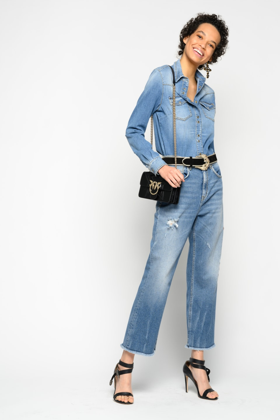 Mom-fit bootcut jeans - Pinko
