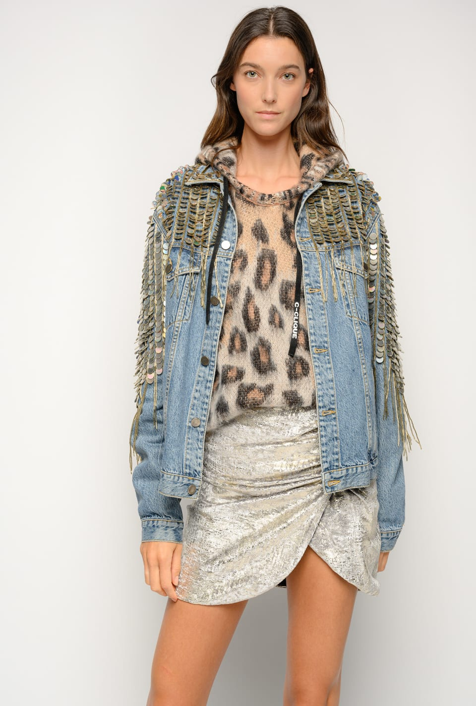 Chaqueta de denim Re-Glam - Pinko