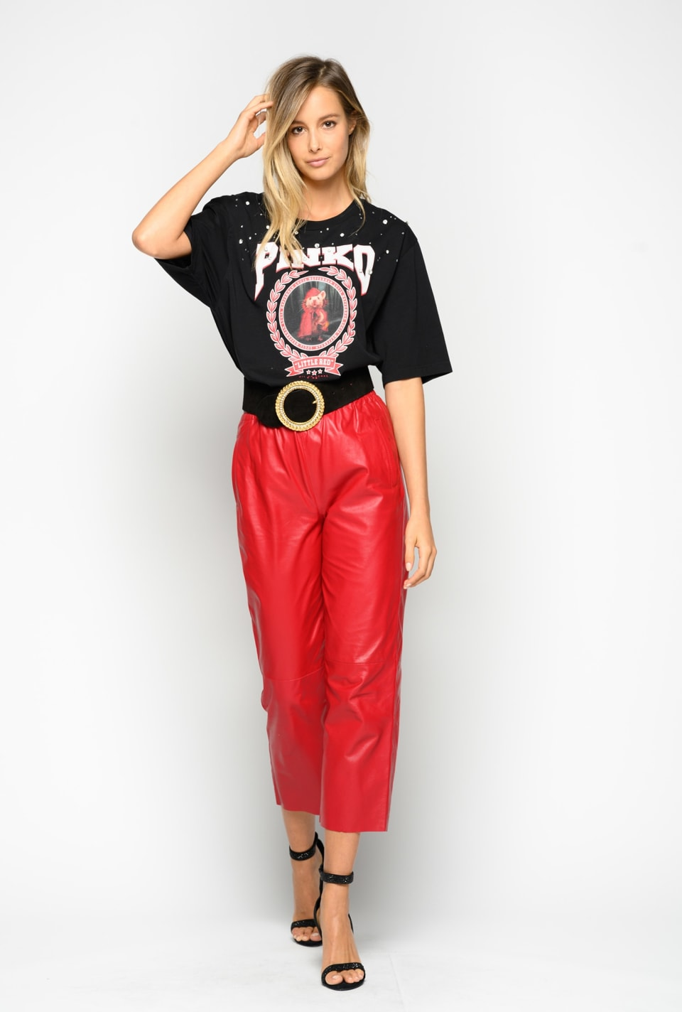 "T-shirt ""Little Red"" - Pinko"