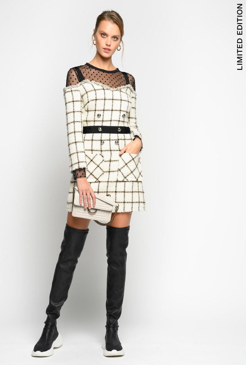 Bouclé dress Limited Edition