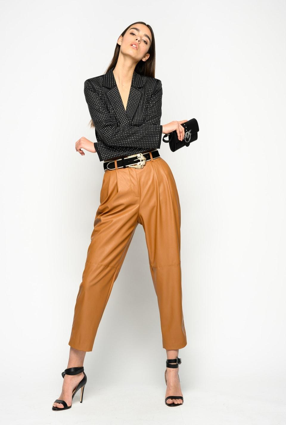 Pantaloni con cintura Love Birds