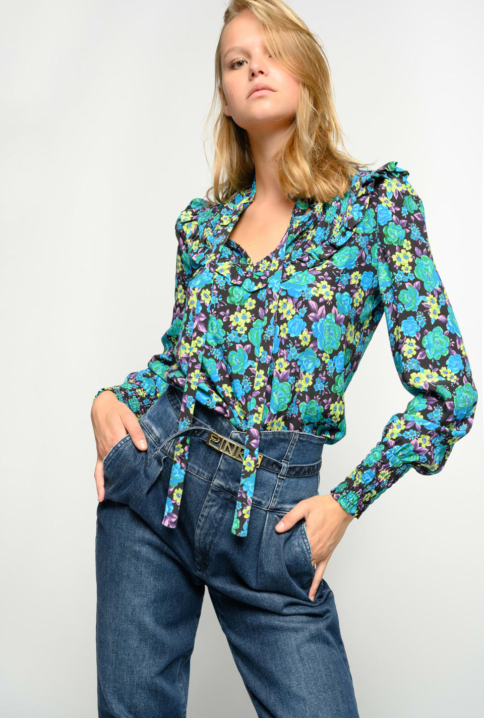 Floral blouse - Pinko