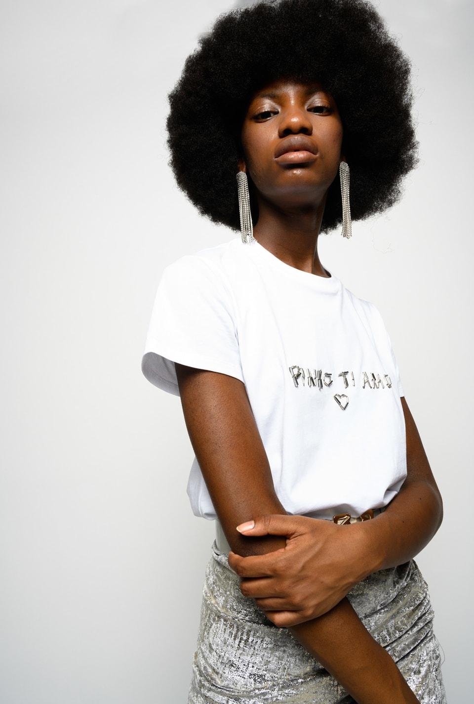 PINKO TI AMO T-shirt - Pinko