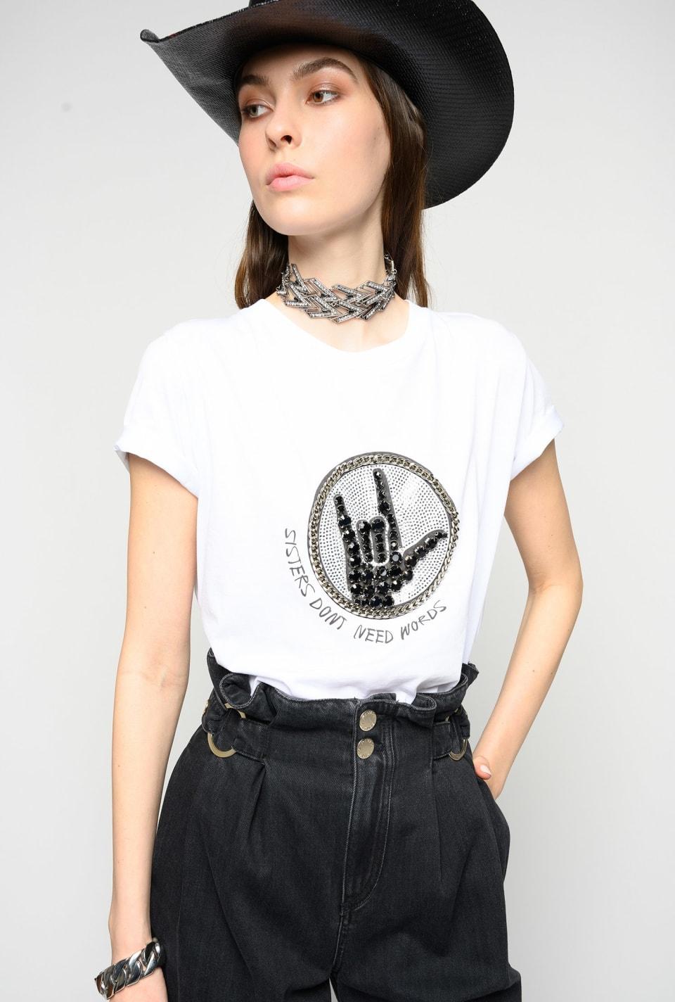 Sisters T-shirt - Pinko