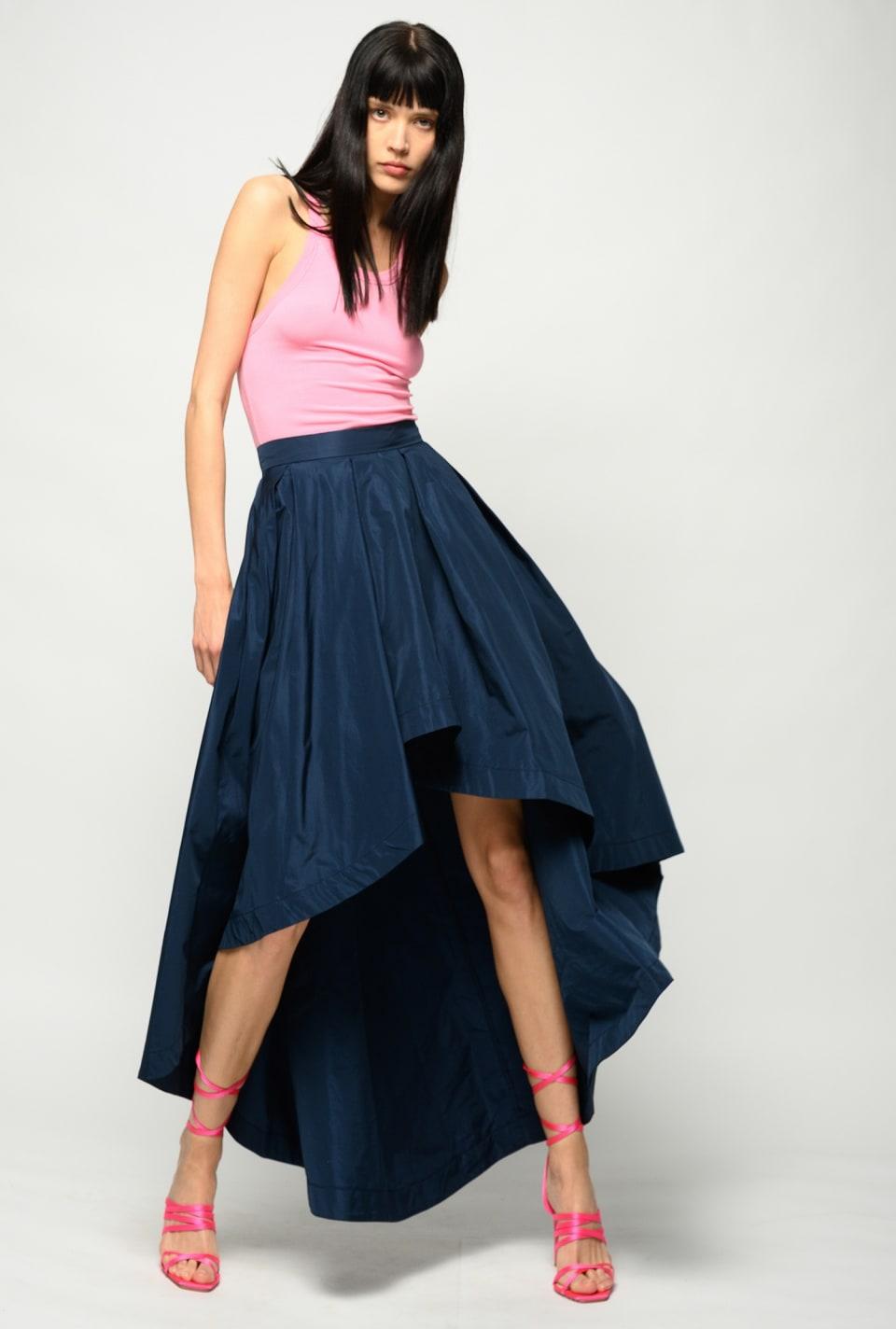 Long taffeta skirt - Pinko