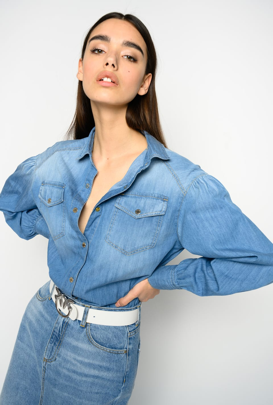 Lightweight denim shirt - Pinko