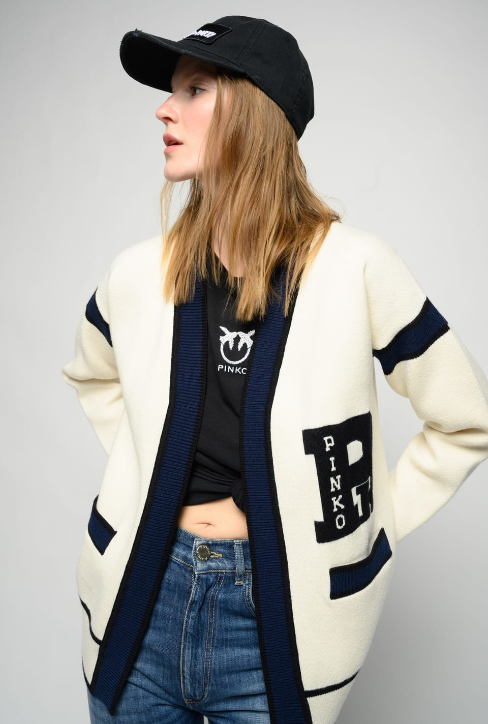 College cardigan - Pinko