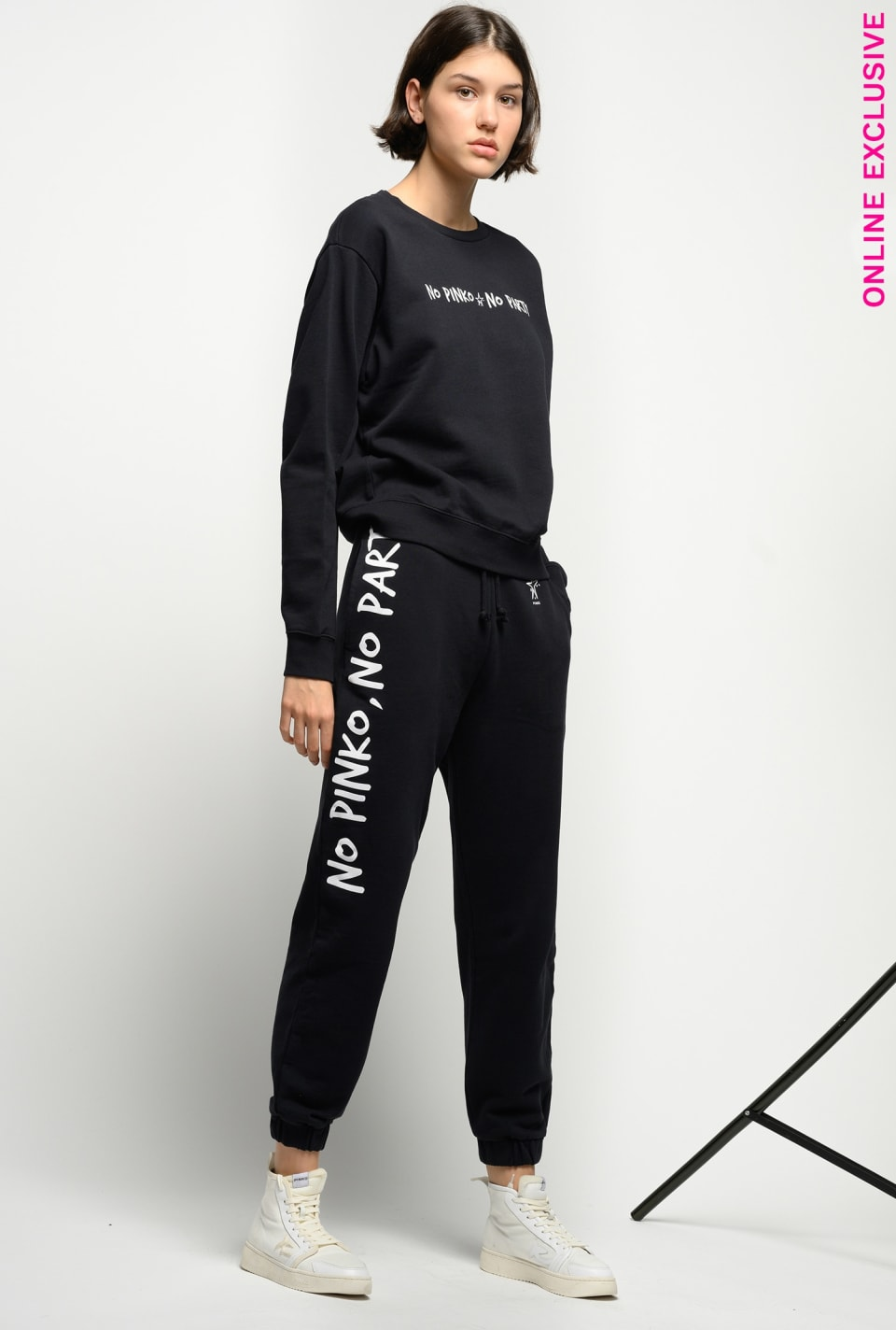 No PINKO No Party fleece joggers - Pinko