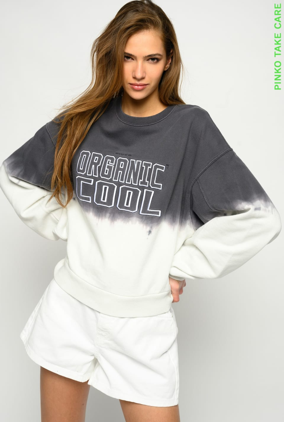 Sweat-shirt Organicool - Pinko