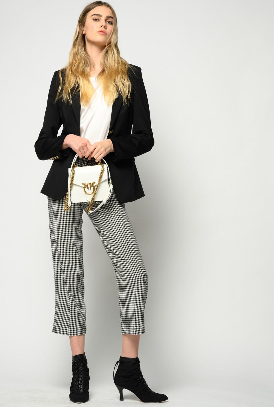 Vichy trousers - Pinko