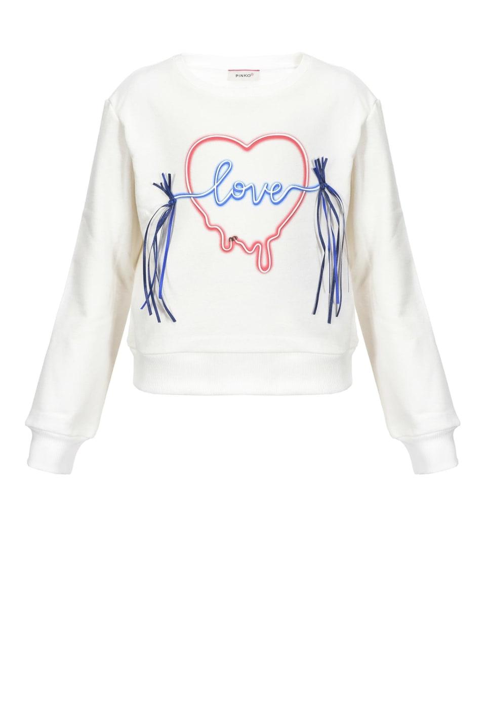 Sweat-shirt Love Neon
