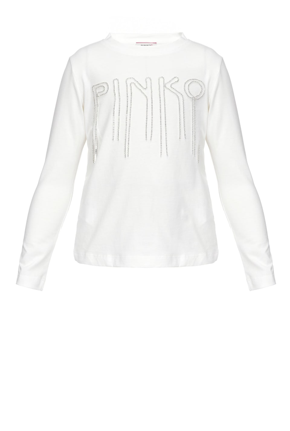 Top with rhinestone logo
