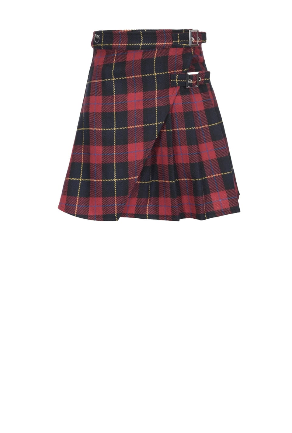 Tartan pattern skirt