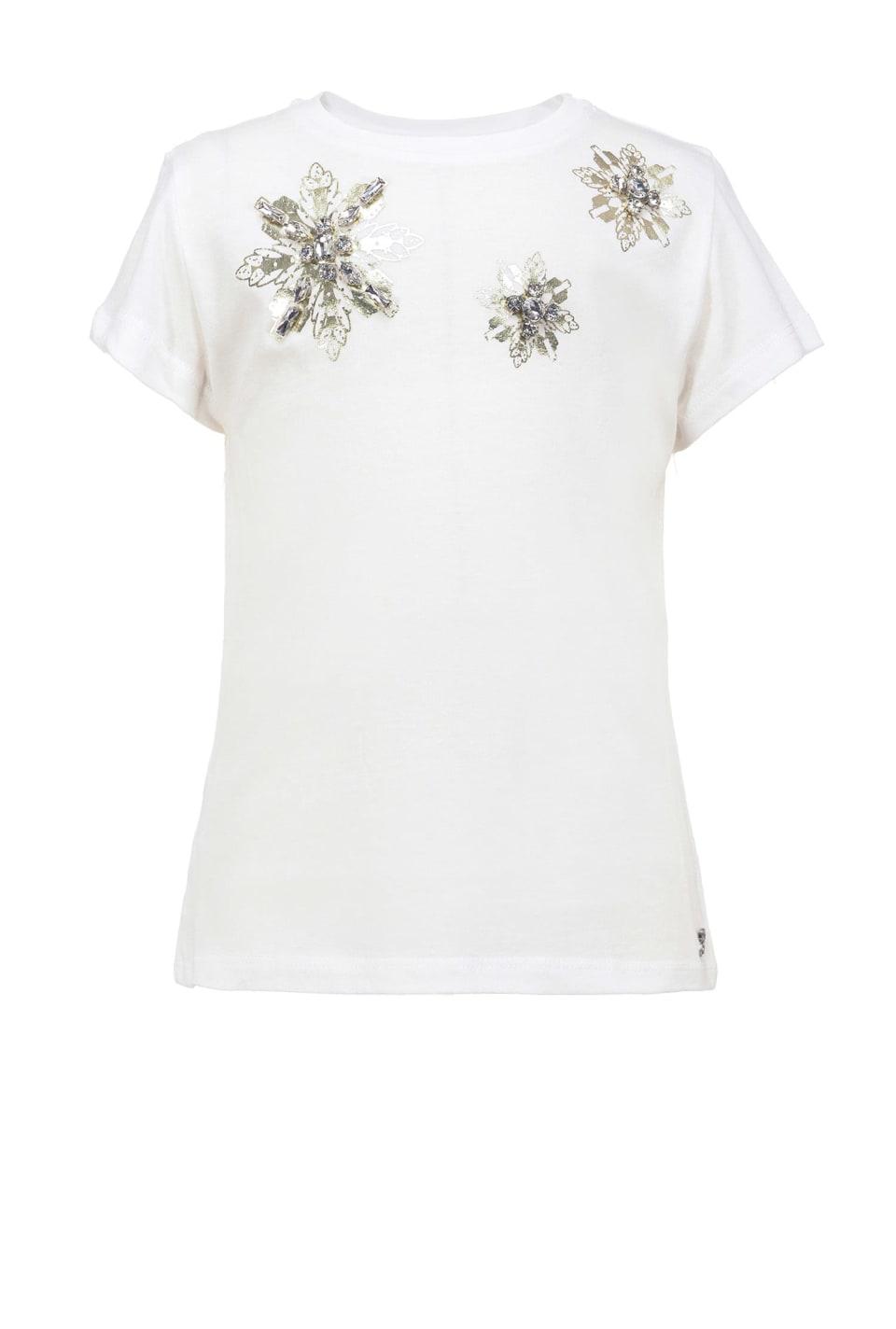 クリスタル装飾 Tシャツ
