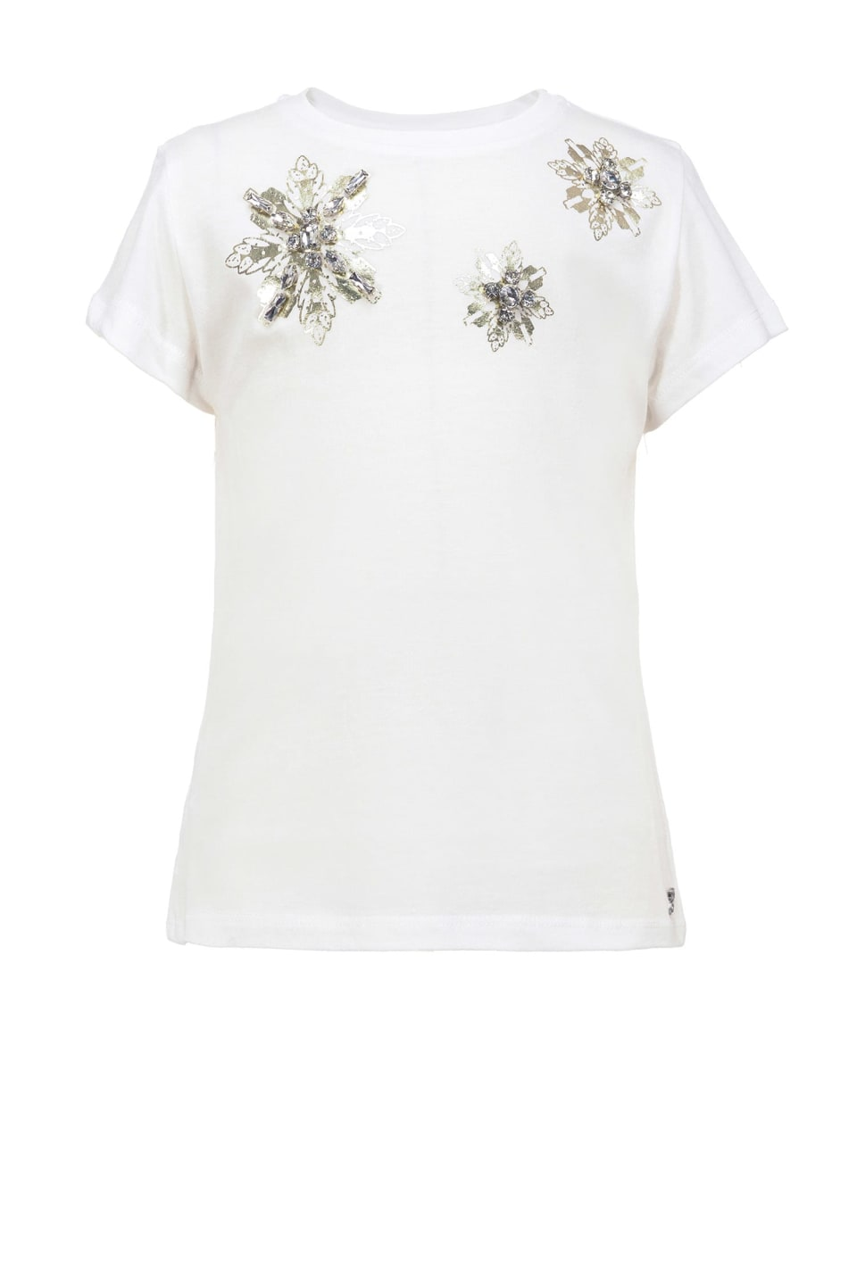 Camiseta con cristales