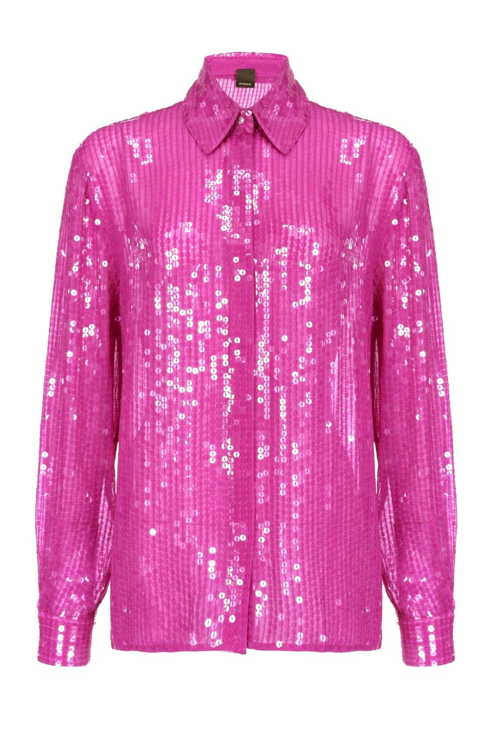Shirt full of shiny sequins