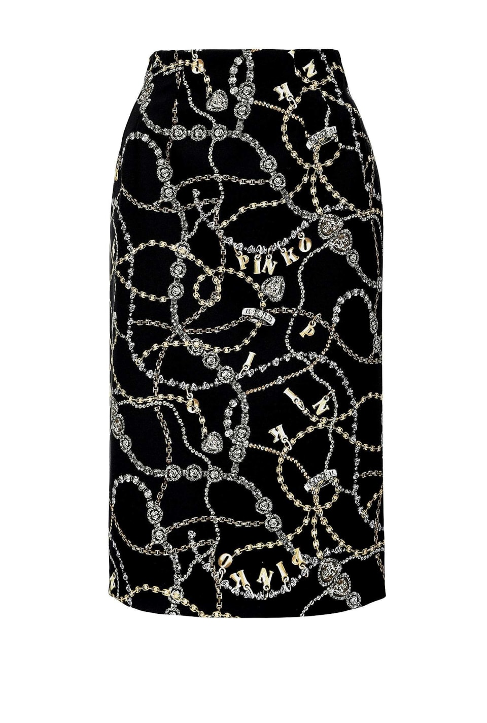Jewel print skirt