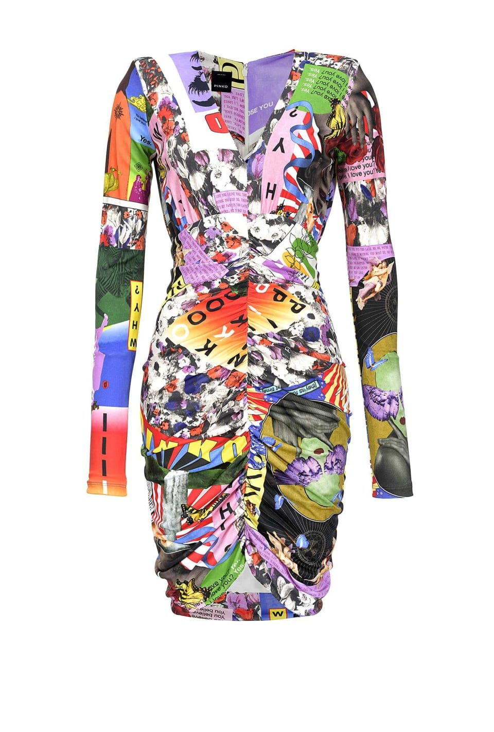 Ultra Pop print dress