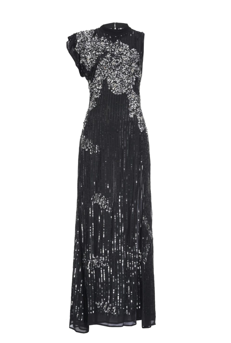 Long sequinned dress