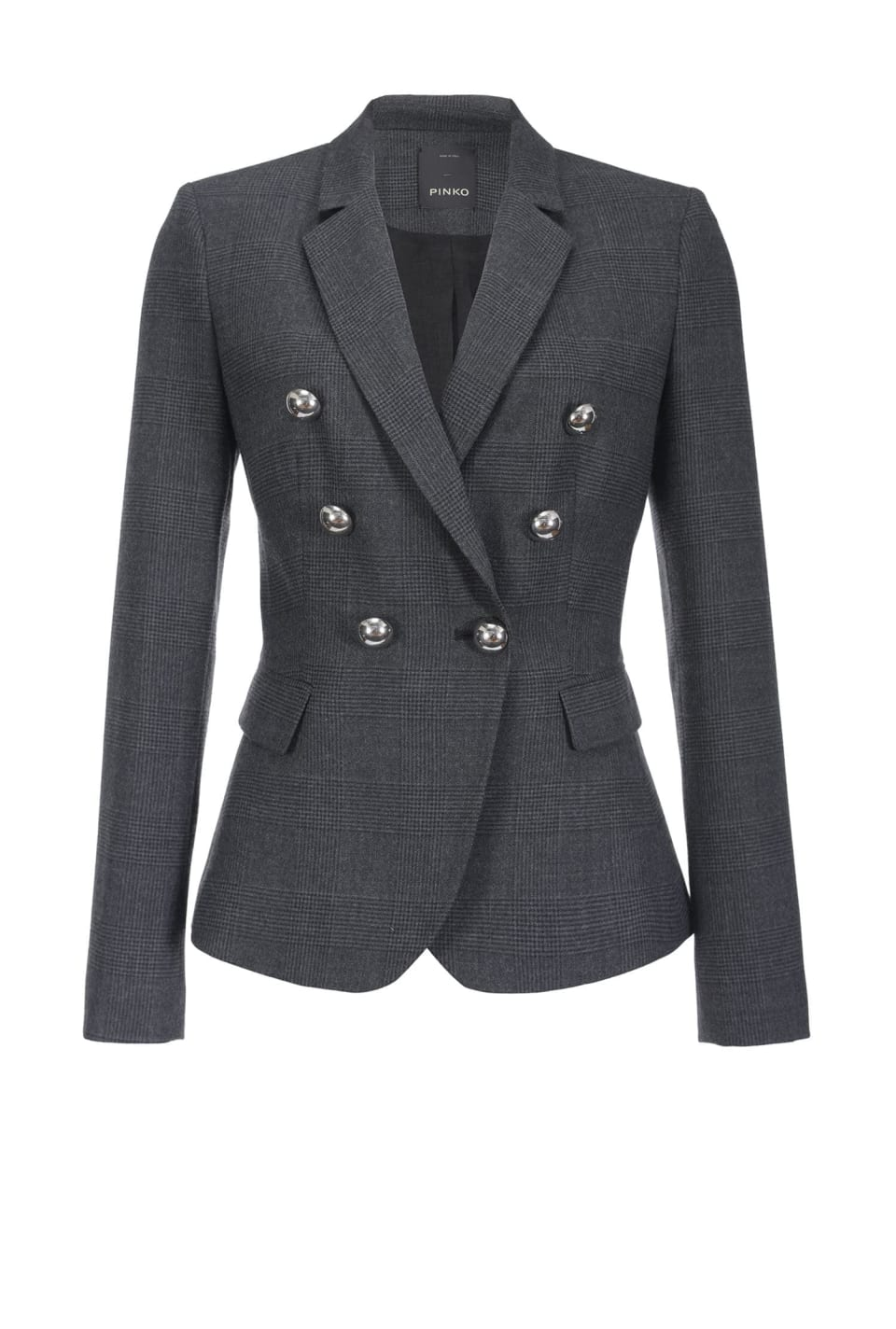 Wool Prince-of-Wales blazer