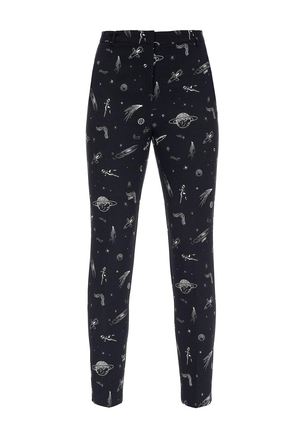 Pantaloni stampa pianeti