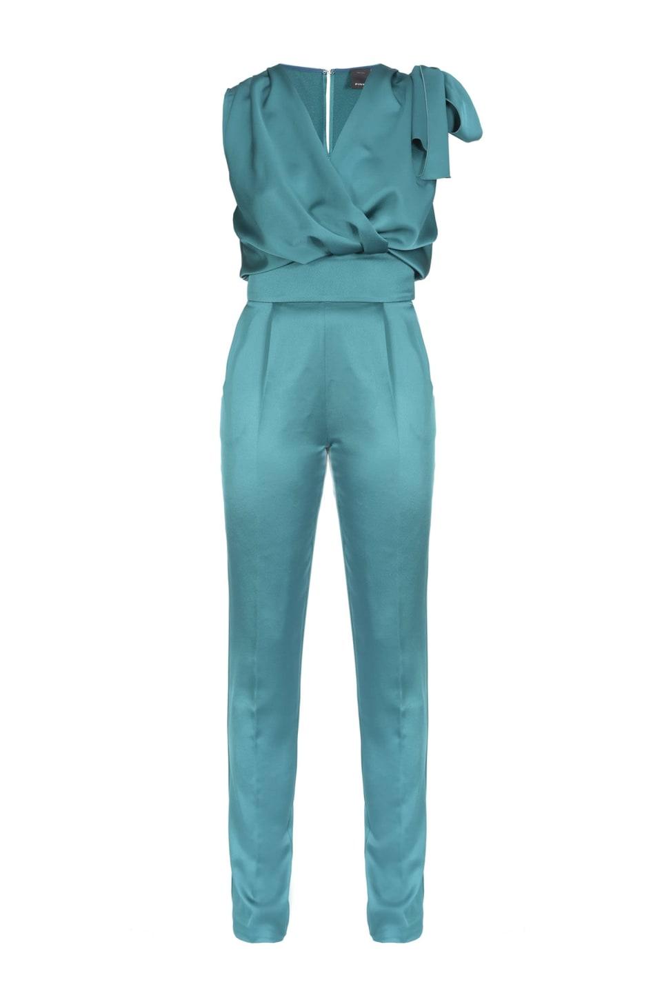 リボン付きジャンプスーツ