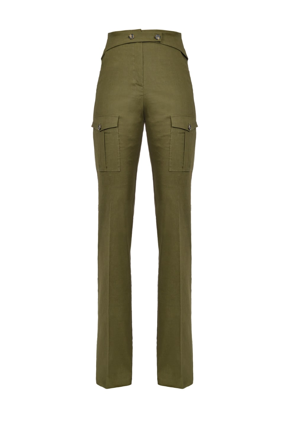 喇叭形工装长裤