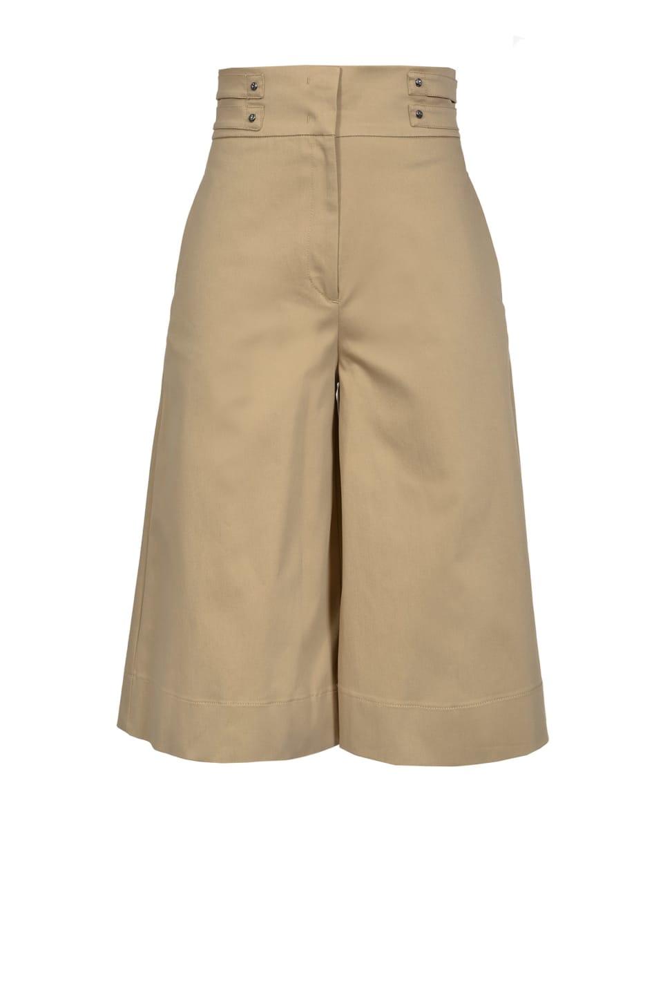 Safari style Bermuda shorts