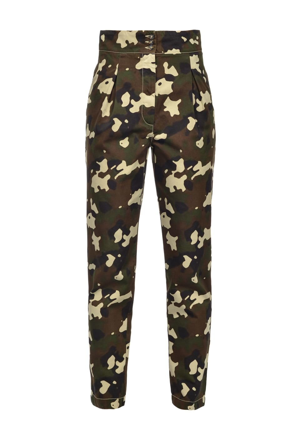 Camouflage trousers - Pinko