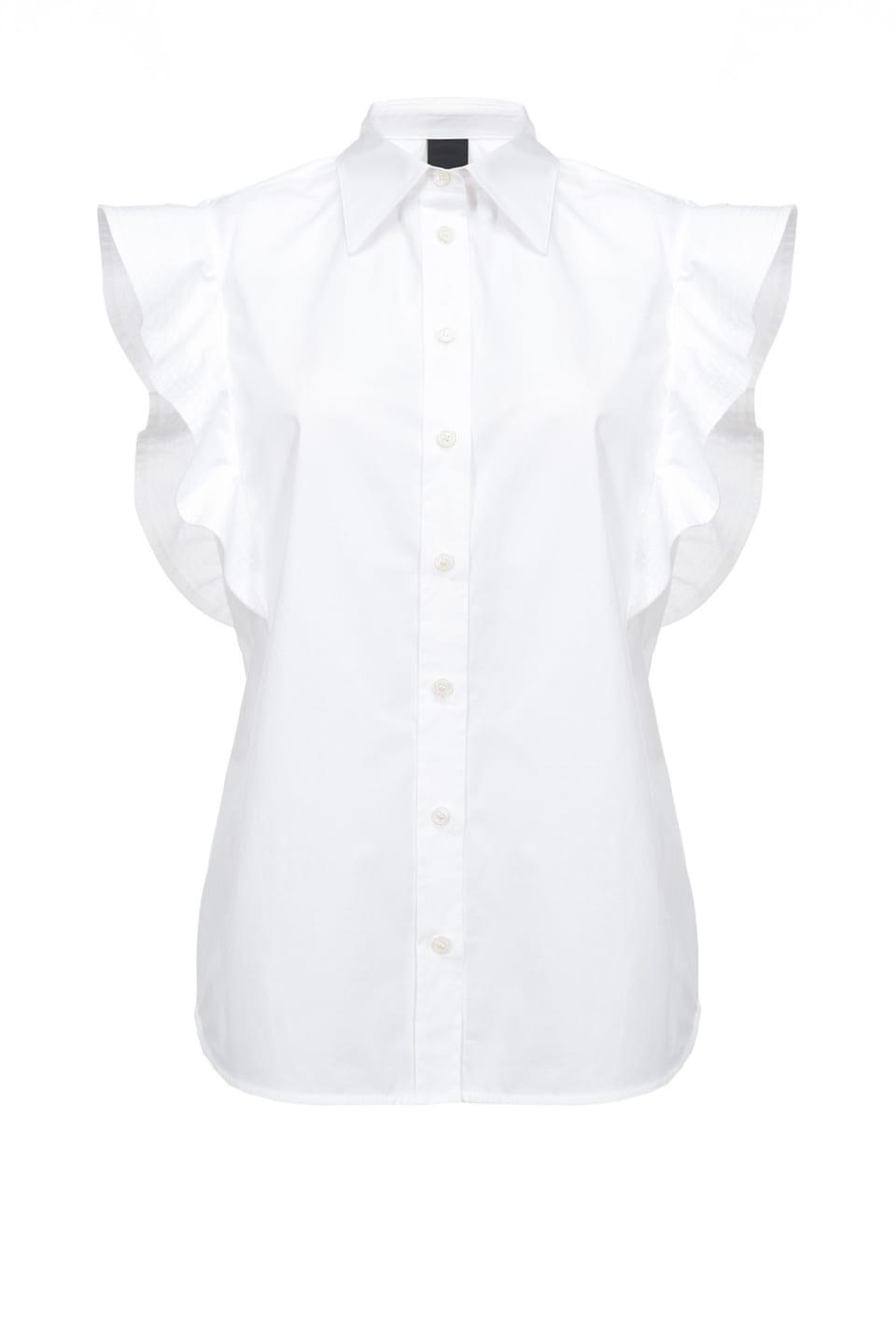 Camisa con frunces