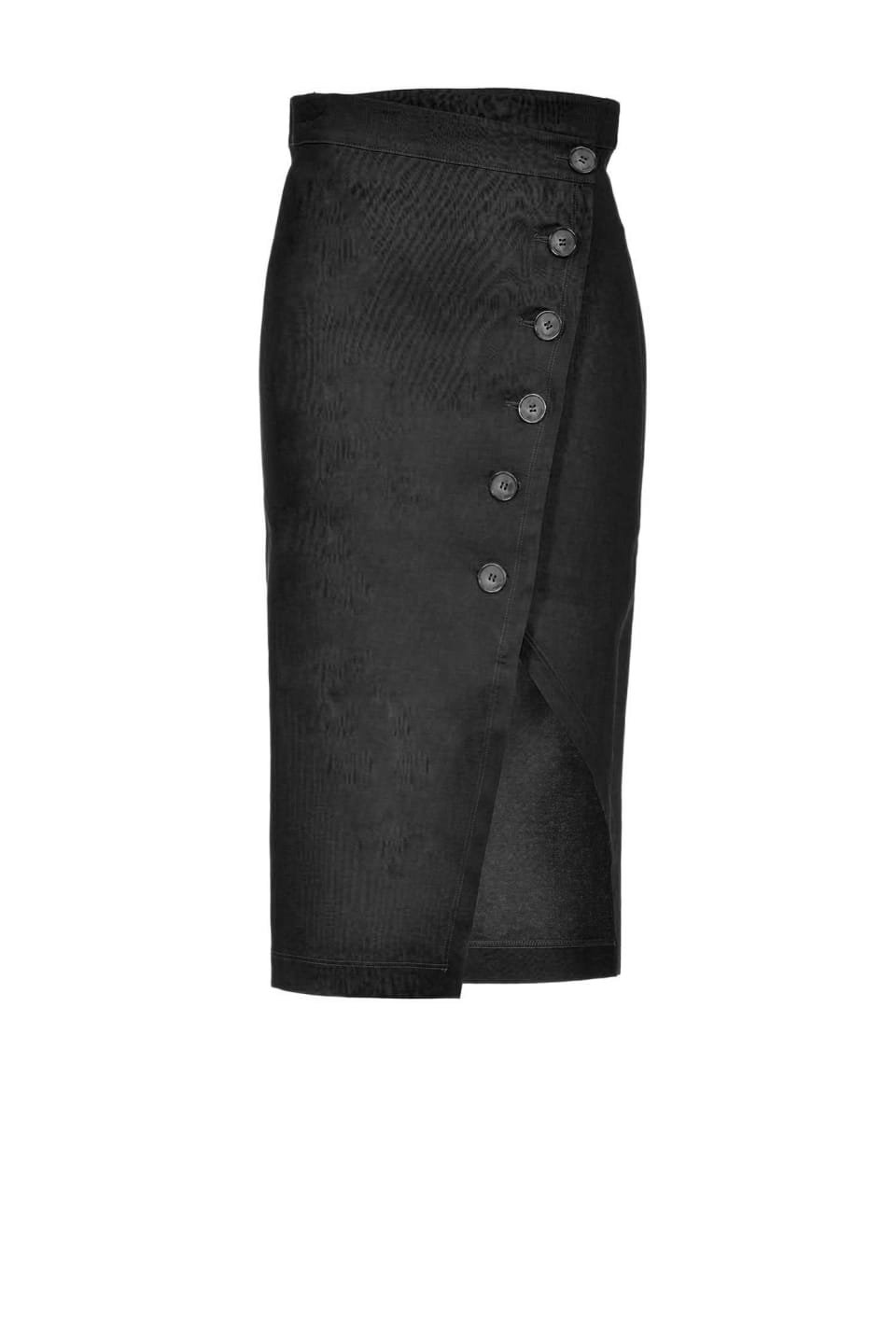 Midi-length skirt with buttons - Pinko