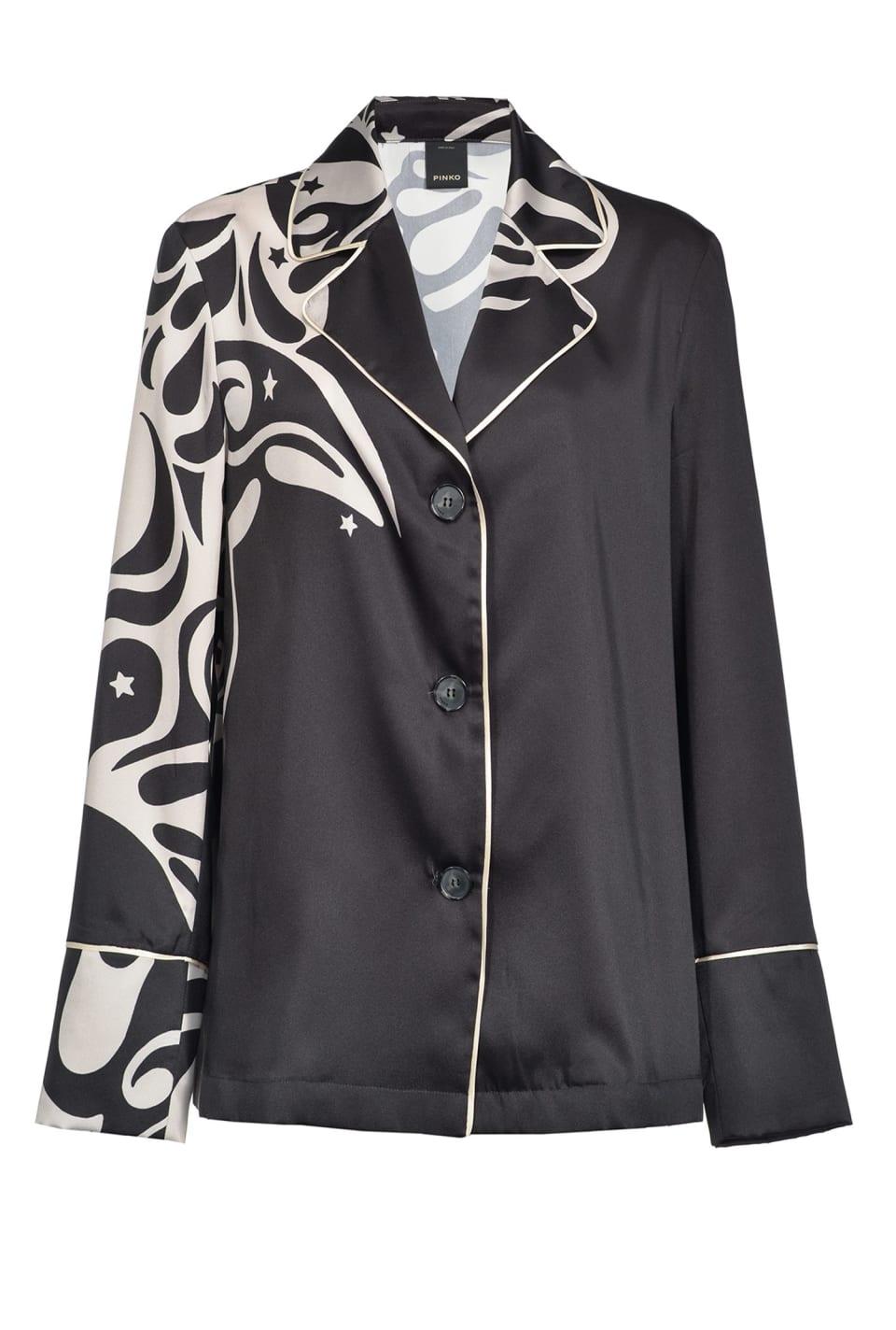 Japan print jacket