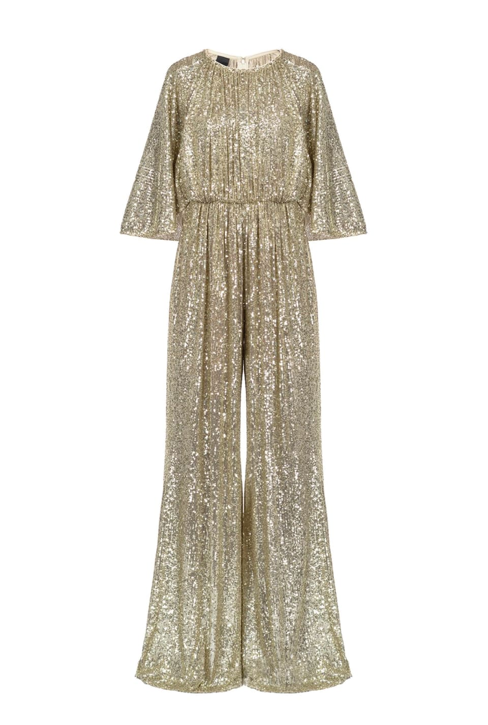 All-in-over sequin jumpsuit