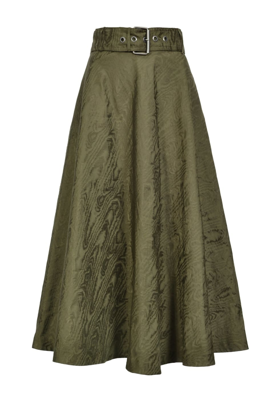 Skirt in moiré taffeta