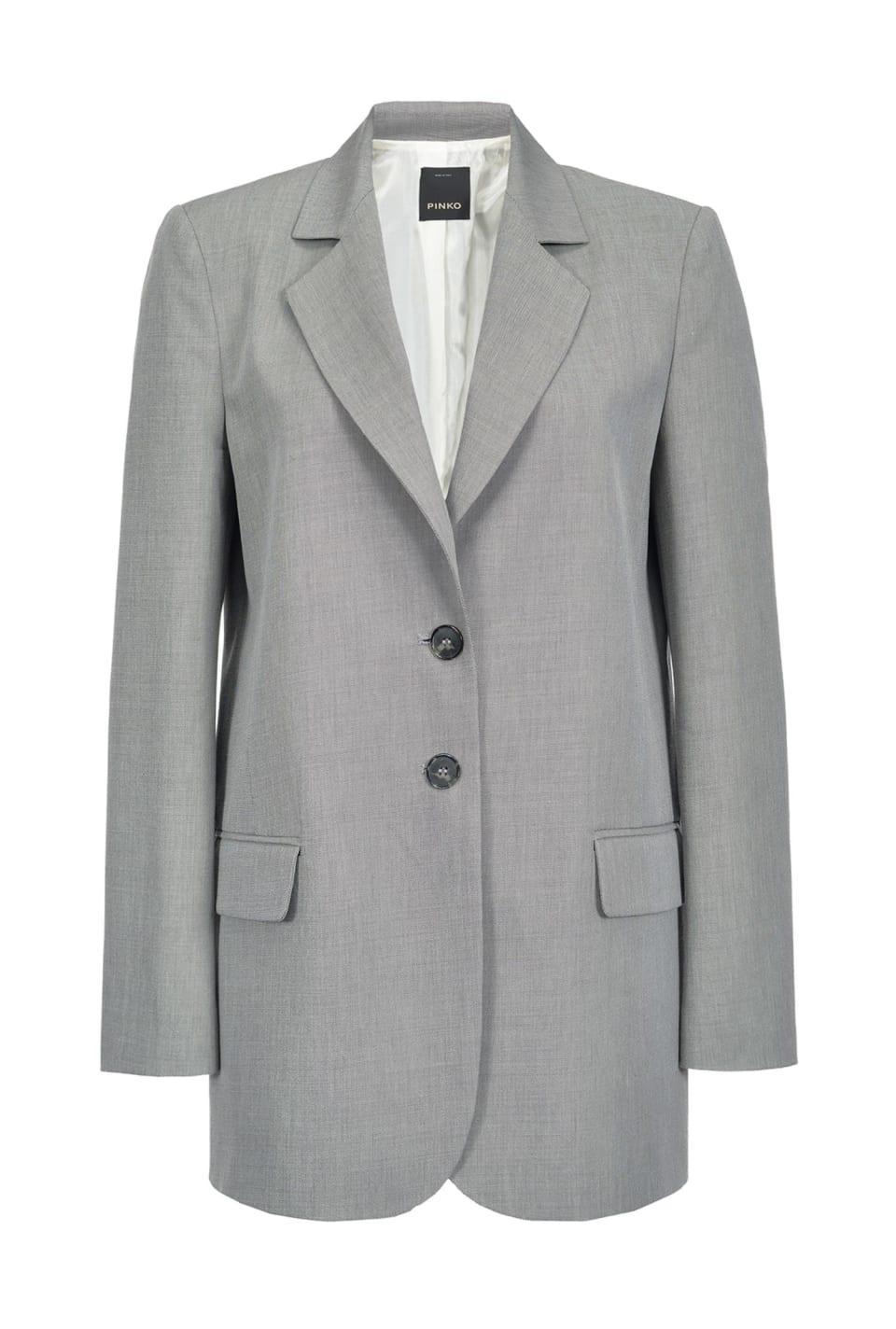 Blazer in grisaille