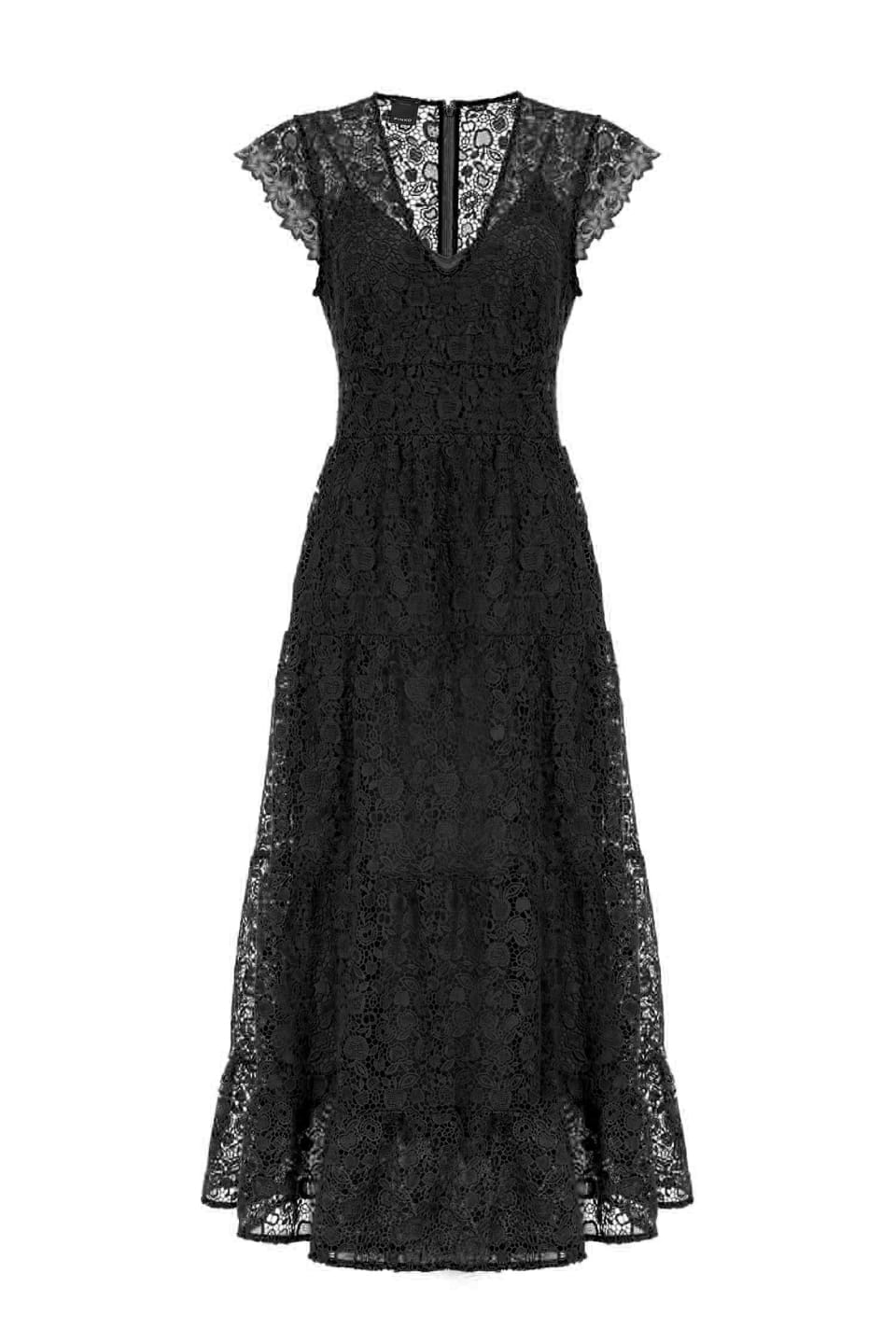 Long macramé dress - Pinko