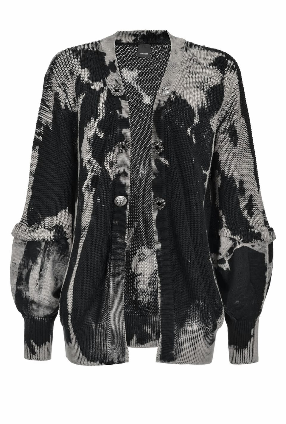 Cardigan tie and dye