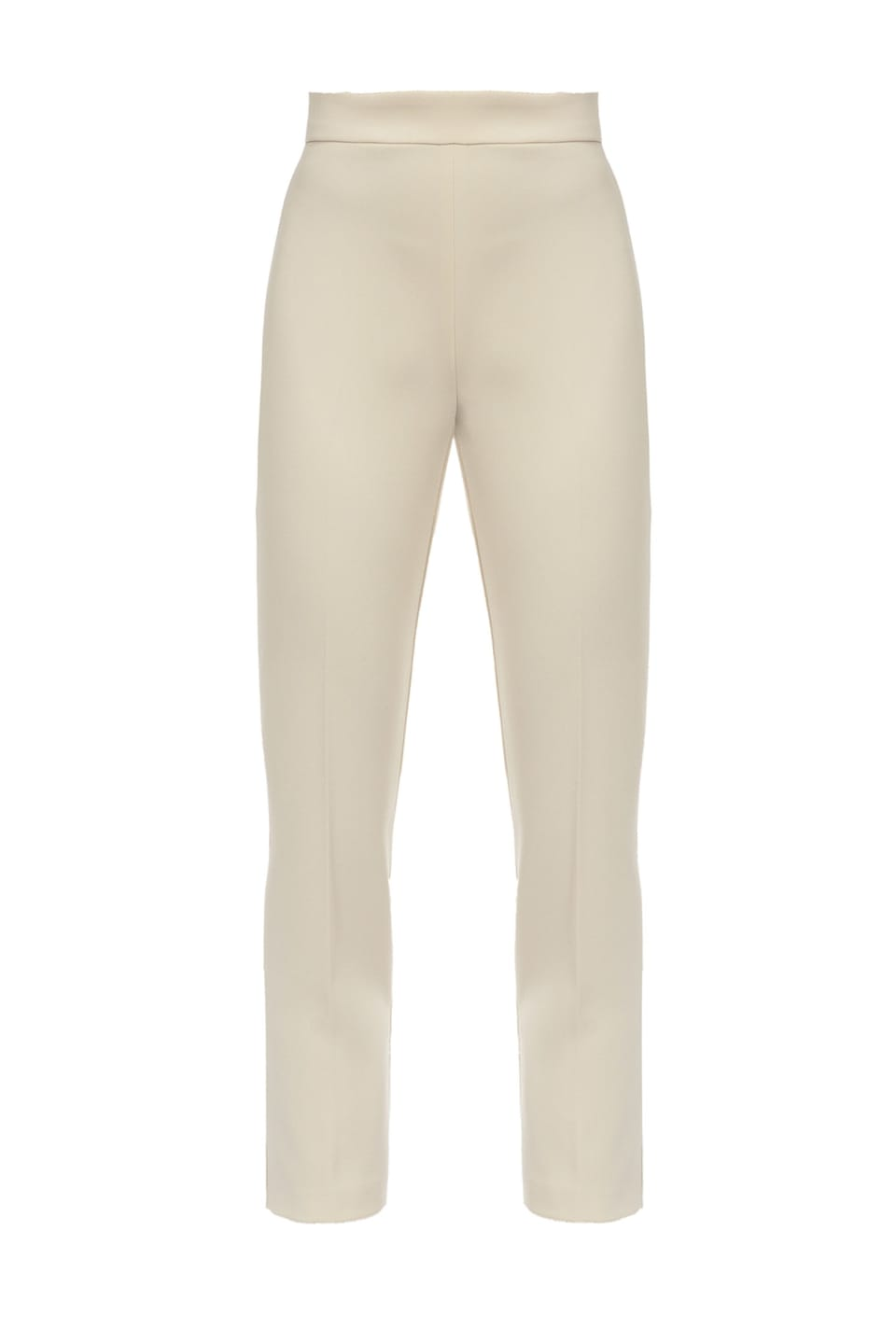 Poly crepe trousers