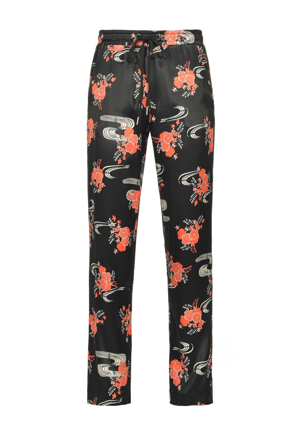 Japanese floral joggers